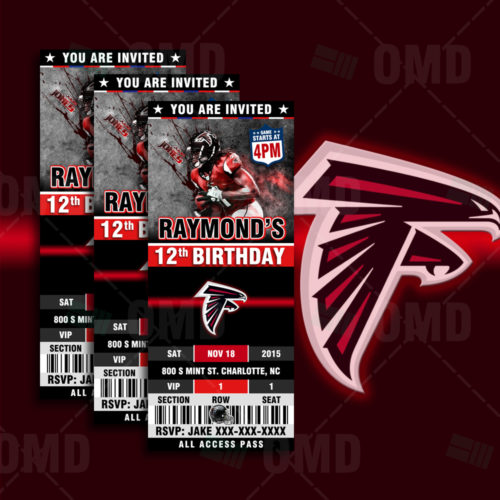 Atlanta Falcons - Invite - Product 1