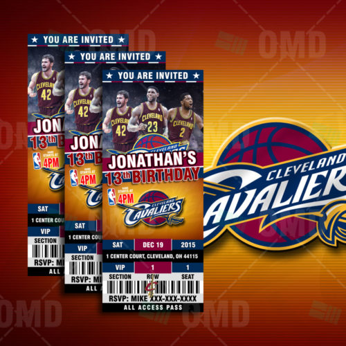 Cleveland Cavaliers - Invite 1 - Product 1