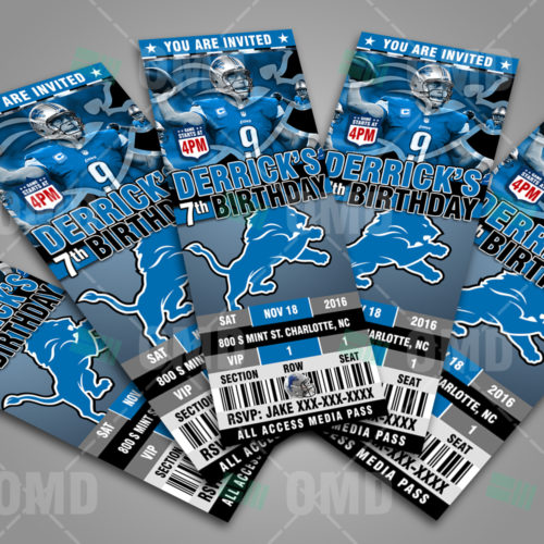 Detroit Lions-Invite-2-Product-2