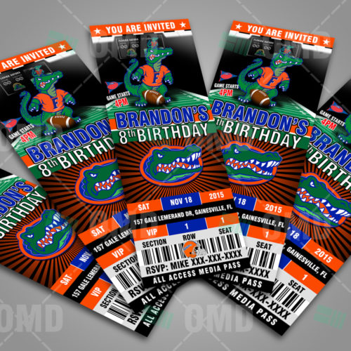 Florida Gators Football - Invite 1 - Product 2