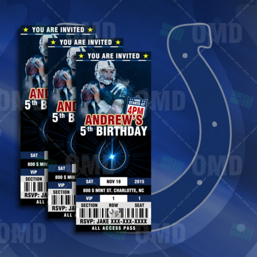 Indianapolis Colts - Invite - Product 1