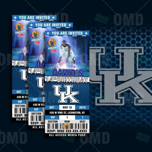 Kentucky Wildcats - Invite 1 - Product 1