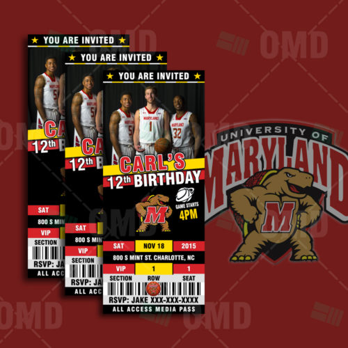 Maryland - Invite - Product 1