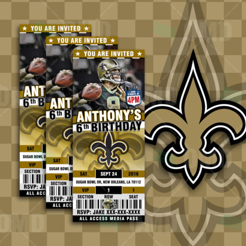 New Orleans Saints - Invite 1 - Product 1
