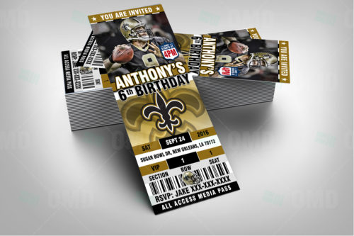 New Orleans Saints - Invite 1 - Product 2