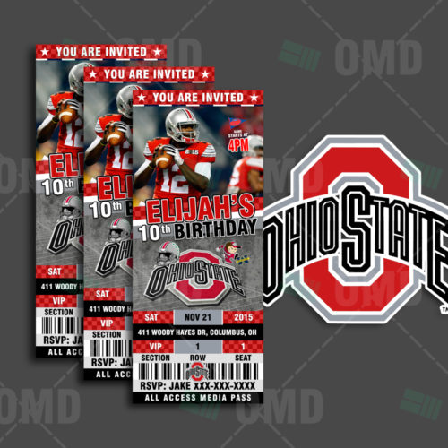Ohio State Buckeyes - Invite 2 - Product 1