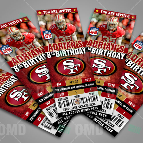 San Francisco 49ers - Invite 4 - Product 3