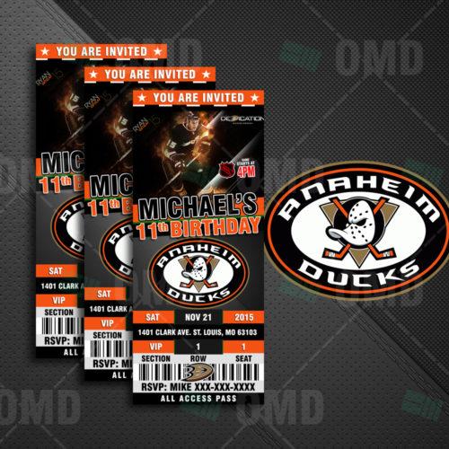 Anaheim Ducks - Invite 1 - Product 1