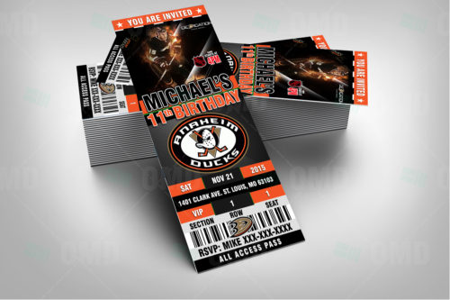 Anaheim Ducks - Invite 1 - Product 2