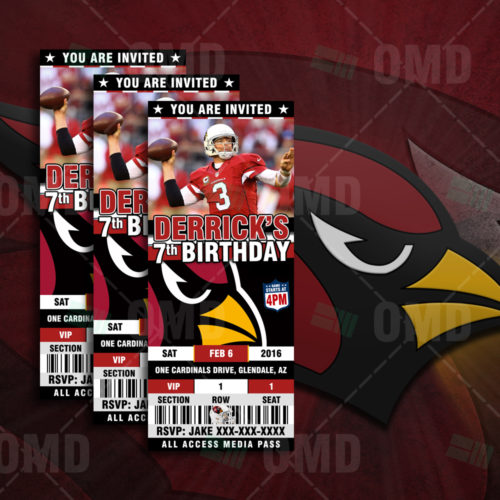 Arizona Cardinals - Invite 2 - Product 1