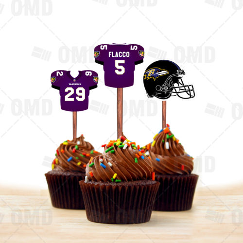 Baltimore Ravens - Cupcake Topper 1 - Product 1
