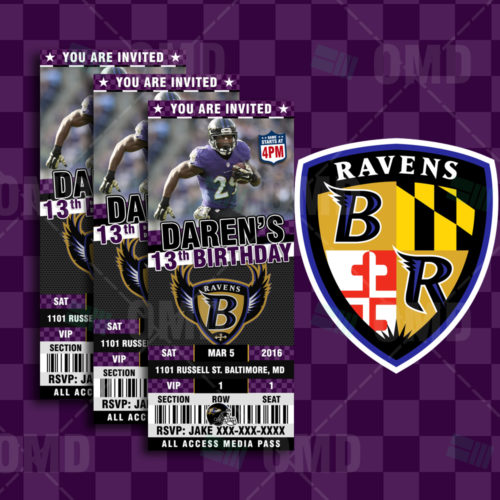 Baltimore Ravens - Invite 2 - Product 1