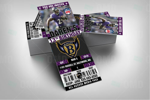 Baltimore Ravens - Invite 2 - Product 2