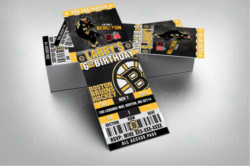Boston Bruins - Invite 1 - Product 2