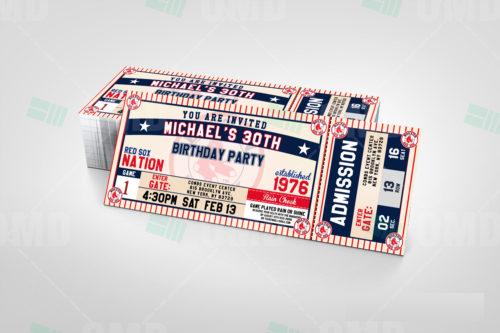Boston Red Sox - Invite 2 - Product 1