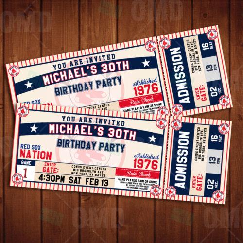 Boston Red Sox - Invite 2 - Product 2