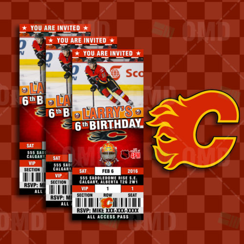 Calgary Flames - Invite 1 - Product 1