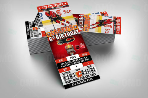 Calgary Flames - Invite 1 - Product 2