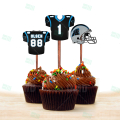 Carolina Panthers - Cupcake Topper 1 - Product 1