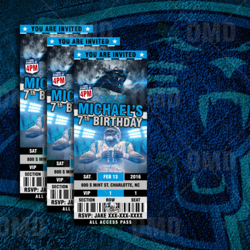 Carolina Panthers - Invite 2 - Product 1