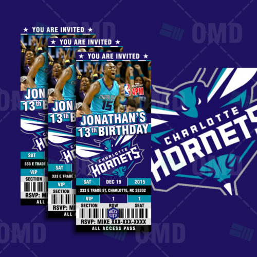 Charlotte Hornets - Invite 1 - Product 1