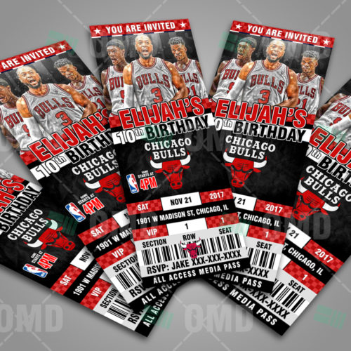 Chicago Bulls - Invite 3 - Product 1