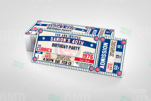 Chicago Cubs - Invite 2 - Product 2