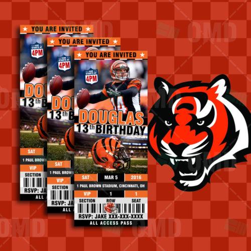 Cincinnati Bengals - Invite 2 - Product 1