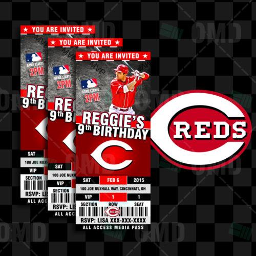 Cincinnati Reds - Invite 1 - Product 1