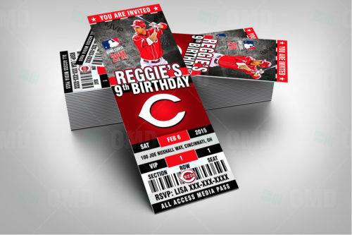 Cincinnati Reds - Invite 1 - Product 2