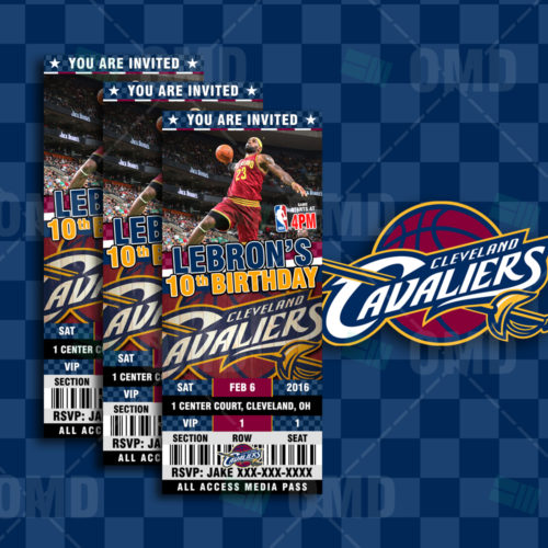 Cleveland Cavaliers - Invite 2 - Product 1