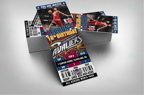 Cleveland Cavaliers - Invite 2 - Product 2