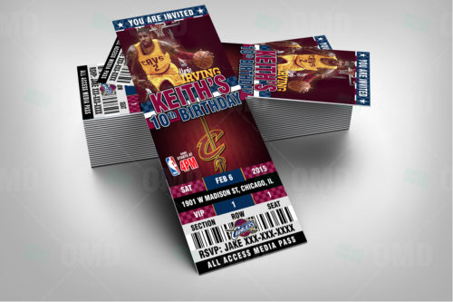 Cleveland Cavaliers - Invite 3 - Product 2