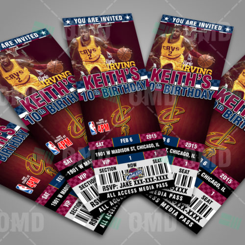 Cleveland Cavaliers - Invite 3 - Product 3