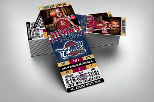 Cleveland Cavaliers - Invite 4 - Product 2