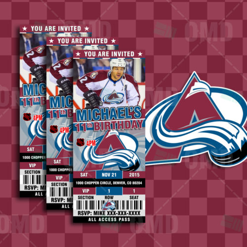 Colorado Avalanche - Invite 1 - Product 1