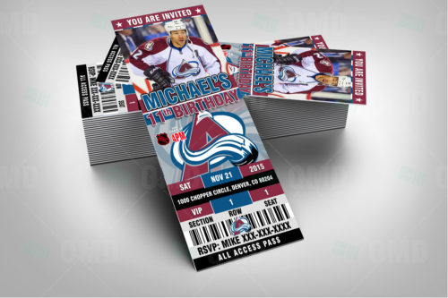 Colorado Avalanche - Invite 1 - Product 2