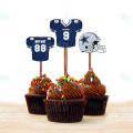 Dallas Cowboys - Cupcake Topper 1 - Product 1