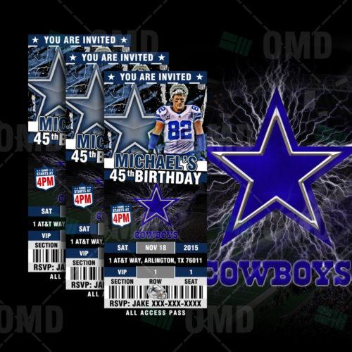 Sports Invites Product Tags Dallas Cowboys – Dallas Cowboys Party Invitations