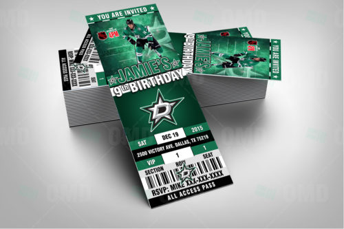 Dallas Stars - Invite 1 - Product 2