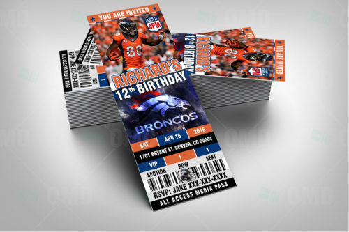 Denver Broncos - Invite 2 - Product 2