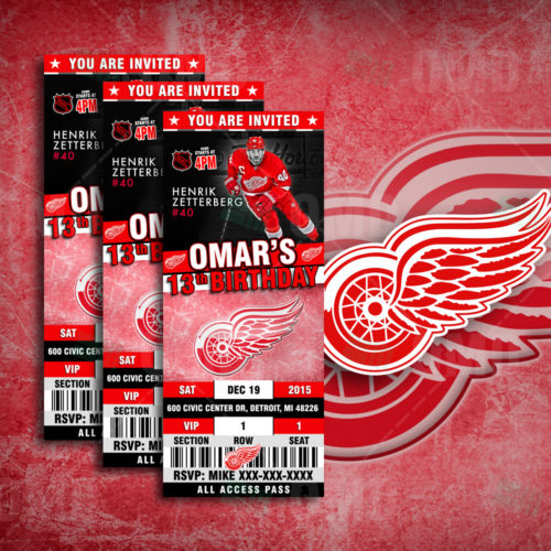 Detroit Red Wings - Invite 1 - Product 1