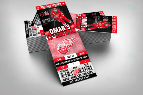 Detroit Red Wings - Invite 1 - Product 2