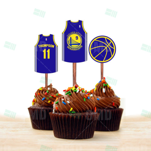 Golden State Warriors - Cupcake Toppers 1 - Product 3