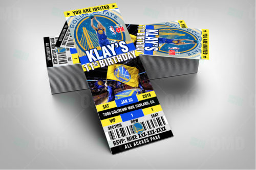 Golden State Warriors - Invite 2 - Product 2
