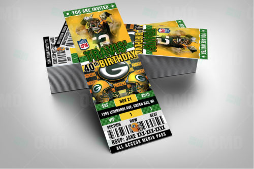 Greenbay Packers - Invite 2 - Product 2