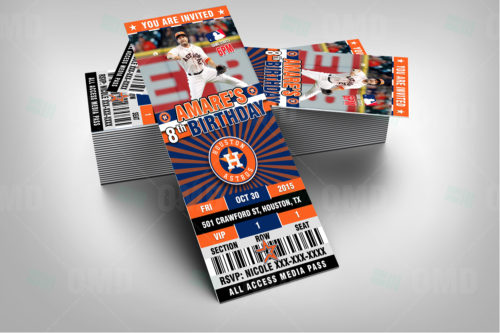Houston Astros - Invite 1 - Product 1-2
