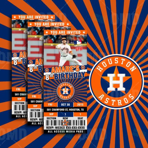 Houston Astros - Invite 1 - Product 1