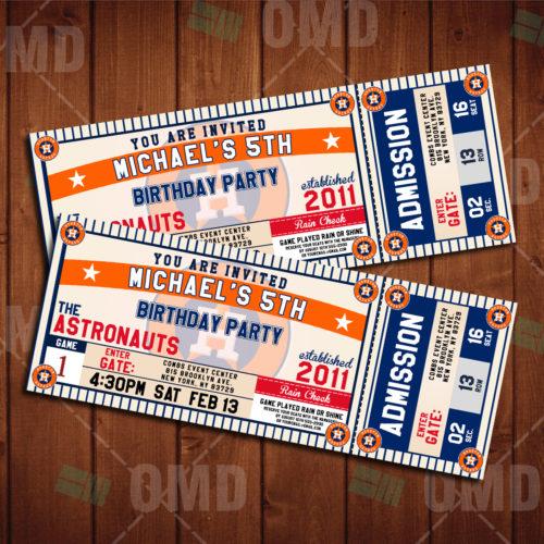 Houston Astros - Invite 2 - Product 1