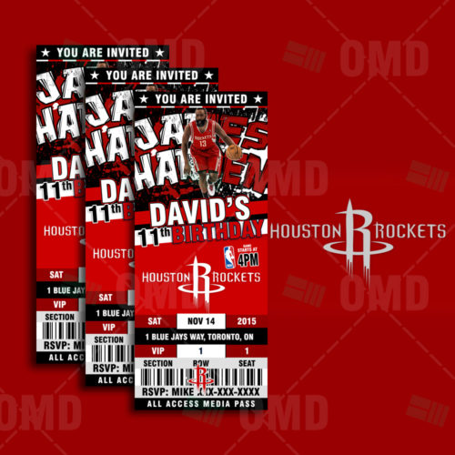 Houston Rockets - Invite 1 - Product 1